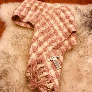 Banana Republic Plaid pink scarf